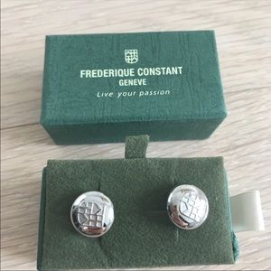 Other - Frederique Constant Geneva cuff links